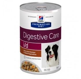 Hill's Prescription Diet™ i/d™ Canine /Диета За Кучета Имащи Повръщане Диария Или Се Възстановяват От Операция (Задушено Пилешко И Зеленчуци)/-354гр