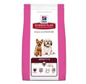 Hill's Science Plan™ Canine Adult Small&Miniature Chicken&Turkey /храна за израснали кучета от дребни и миниатюрни породи с пуешко и пилешко месо/-6,5кг