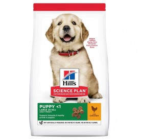 Hill's Science Plan™ Puppy Large Breed Chicken /Храна За Подрастващи Кученца Големи Породи/-2,5кг