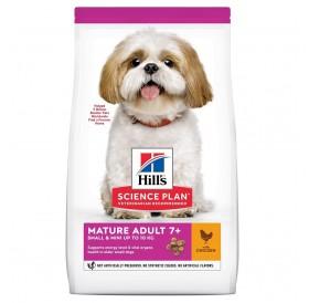 Hill's Science Plan™ Small&Mini Mature 7+ Chicken /храна за възрастни кучета от дребни и миниатюрни породи с пилешко месо/-1,5кг