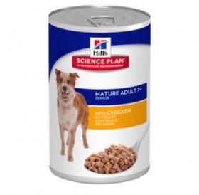 Hill's Science Plan™ Mature7+ Active Longevity™ Chicken /храна за възрасни кучета с пилешко месо/-370гр