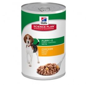 Hill's Science Plan™ Puppy Healthy Development™ Chicken /храна за подрастващи кученца и за бременни и кърмещи кучета/-370гр