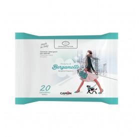 Ingenya Salviette Cleaning Wipes Bergamotto /мокри кърпички за тяло с аромат/-20бр