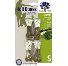JR Farm Holi Bones /лакомство за куче кожен кокал с агнешко месо,магданоз и тиквички/-2бр
