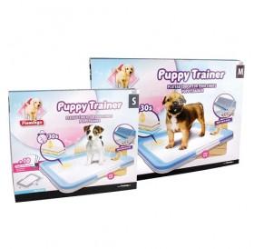 Karlie Puppy Trainer With Training Mats /противоплъзгаща основа с 10 абсорбиращи подложки 35х45см/
