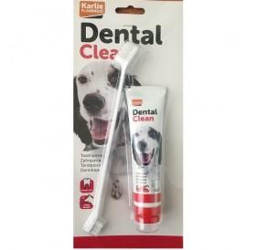 Karlie Flamingo Dental Clean /паста за зъби с включена четка/