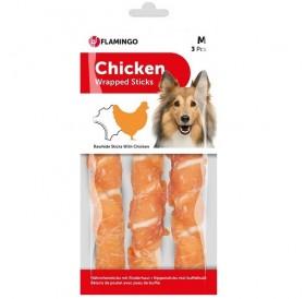 Karlie Flamingo Chick'n Wrapped Sticks M /солети обвити с пилешко месо/-3бр