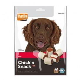 Karlie Flamingo Chick'n Snack Sushi /лакомство с чисто пилешко и риба суши/-85гр