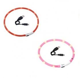 Karlie Visio Light LED USB Collar /USB Светещ Нашийник За Куче/-70см