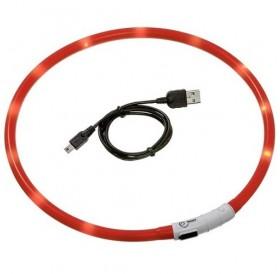 Karlie Visio Light LED USB Collar /USB Светещ Нашийник За Куче/-30см