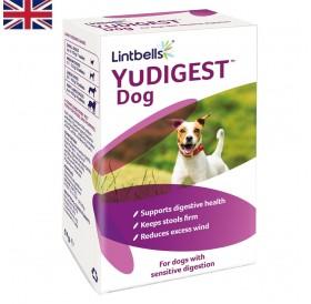 Lintbells® YuDIGEST™ Dog /овкусени пребиотични таблетки за възстановяване на чревната микрофлора за кучета/-60бр