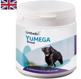 Lintbells® YuMEGA® Boost /хранителна добавка за кучета за красива козина и здрави нокти/-91гр
