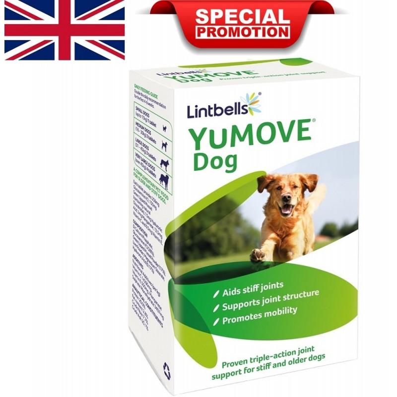 Lintbells YuMOVE Dog /хранителна добавка за кучета със ставни проблеми/-120+30бр ПОДАРЪК