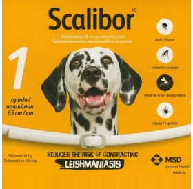 Scalibor Protector Band /противопаразитна каишка за куче/-65см