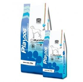 MSM Pet Food Play Dog Play Fish /храна за израснали кучета от всички породи с риба/-15кг