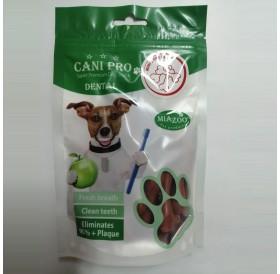 Miazoo Cani Pro Dental Mini Soft Bones Beef /Дентални Лакомства За Кучета Мини Кокалчета С Говеждо Месо/-84гр