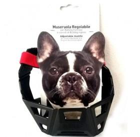 Miazoo /пластмасов намордник за кучета порода Френски булдог/