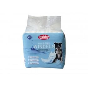 Nobby Diapers For Male Dogs M-L /Памперс Гащи За Мъжки Кучета/-12бр