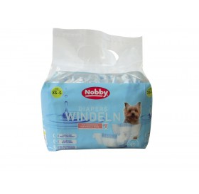 Nobby Diapers for Female Dogs XS-S /Памперс Гащи За Женски Кучета/-12бр