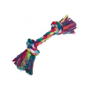 Nobby Playing Rope Coloured 180gr /Играчка За Кучета Памучен Възел/-180гр