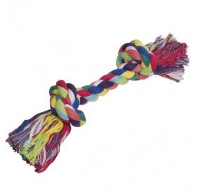 Nobby Playing Rope Coloured 270gr /Играчка За Кучета Памучен Възел/-270гр