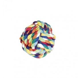 Nobby Playing Ropes Ball Medium /Играчка За Кучета Памучна Топка/-Ø7,5см