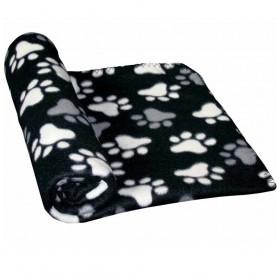 Nobby Fleece Plaid PIPPA Classic Black /Поларено Одеало/-100x70см