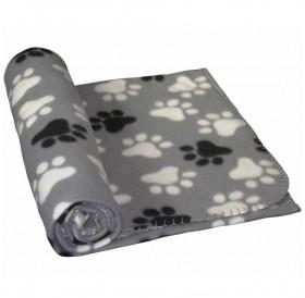 Nobby Fleece Plaid PIPPA Classic Gray /Поларено Одеало/-100x70см