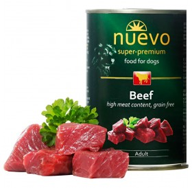Nuevo Dog Adult Beef /храна за израснали кучета с говеждо месо/-400гр