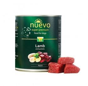 Nuevo Dog Adult Lamb&Potatoes /храна за израснали кучета с агнешко месо и картофи/-400гр