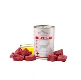 Nuevo Sensitive 100% Beef /храна за израснали кучета с чувствителен стомах с говеждо месо/-400гр