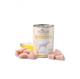 Nuevo Sensitive 100% Chicken /храна за израснали кучета с чувствителен стомах с пилешко месо/-400гр