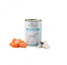 Nuevo Sensitive 100% Fish /храна за израснали кучета с проблемна козина или чувствителен стомах с риба/-400гр