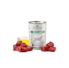 Nuevo Sensitive 100% Lamb /храна за израснали кучета с чувствителен стомах с агнешко месо/-400гр