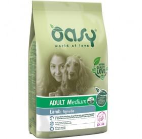 Oasy® Adult Medium Lamb /храна за израснали кучета от средни породи с агнешко/-12кг