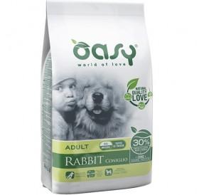 Oasy® Monoprotein Adult All Breeds Rabbit /храна за израснали кучета от всички породи със заешко/-12кг