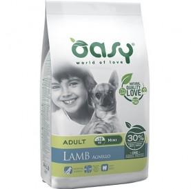 Oasy® Monoprotein Adult Mini Lamb /храна за израснали кучета от дребни породи с агнешко/-2,5кг