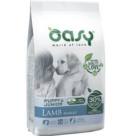 Oasy® Monoprotein Puppy&Junior Lamb All Breeds /храна за подрастващи кученца всички породи/-2,5кг