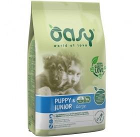 Oasy® Puppy&Junior Large /храна за подрастващи кученца големи породи/-12кг