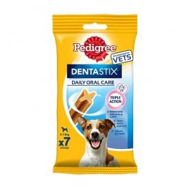 Pedigree Denta Stix Small /Дентални Лакомства За Израснали Кучета Дребни Породи/-110гр