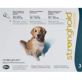 Stronghold 240mg spot on /обезпаразитяващи пипети за кучета от 20 до 40кг/-3бр