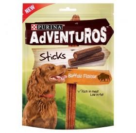 Purina® Adventuros® Strips Buffalo Flavour /меки лакомства за израснали кучета с бизонско месо/-120гр