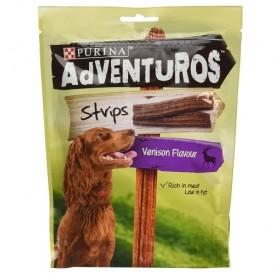 Purina® Adventuros® Strips Venison Flavour /меки лакомства за израснали кучета с еленско месо/-90гр