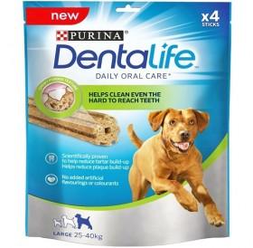 Purina® DentaLife® Large Dog Dental Chew /дентални пръчки за кучета големи породи/-142гр
