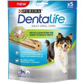 Purina® DentaLife® Medium Dog Dental Chew /дентални пръчки за кучета средни породи/-115гр