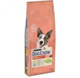 Purina® Dog Chow® Adult Activе Chicken /храна за израснали кучета подложени на интензивни натоварвания/-14кг