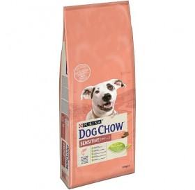 Purina® Dog Chow® Adult Sensitive Salmon /храна за израснали кучета предразположени към алергии/-14кг