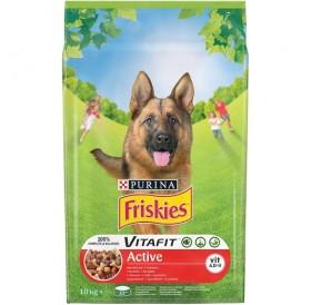 Purina Friskies VitaFit™ Adult Active /храна за израснали кучета с повишена физическа активност/-10кг