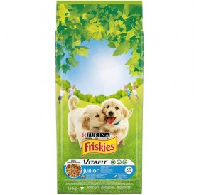 Purina Friskies VitaFit™ Junior Chicken /храна за подрастващи кученца с пилешко месо и зеленчуци/-15кг