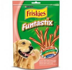 Purina® Friskies® Funtastix /меки лакомства за израснали кучета с бекон и сирене/-175гр